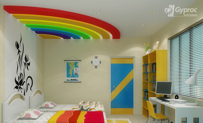 False Ceiling Designs For Kids Room Saint Gobain Gyproc