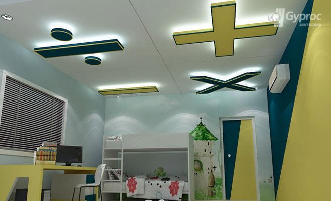 False Ceiling Designs For Kids Room Saint Gobain Gyproc