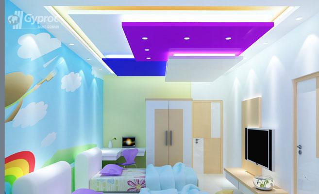 False Ceiling Designs For Kids Room | Saint-Gobain Gyproc ...