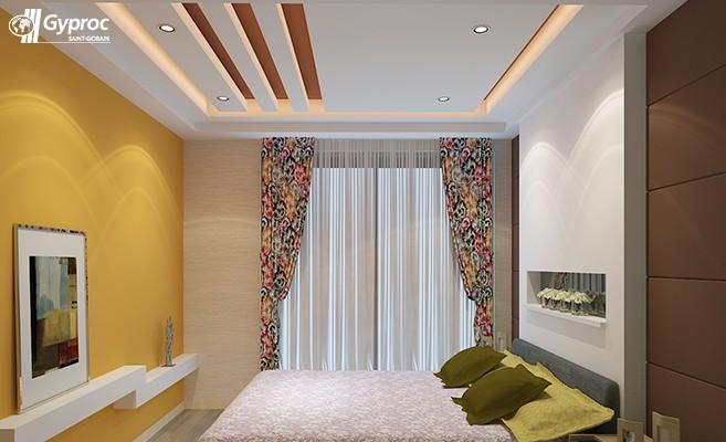 Bedroom Pop Down Ceiling Design