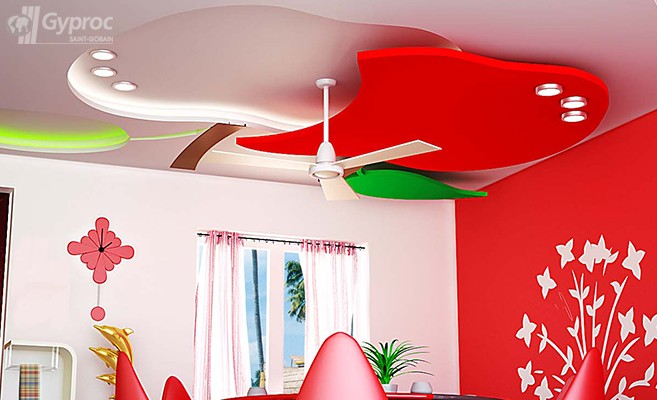 False Ceiling Designs For Living Room | Saint-Gobain ...