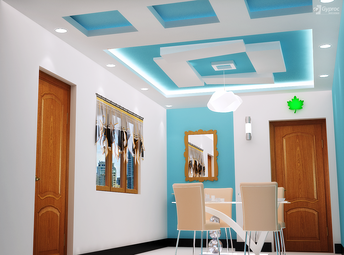 False ceiling designs for other rooms saint gobain 4 selling design