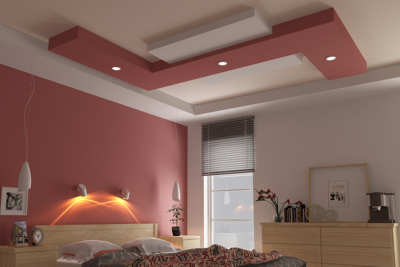 Gypsum Ceiling Design Provides Fire Protection