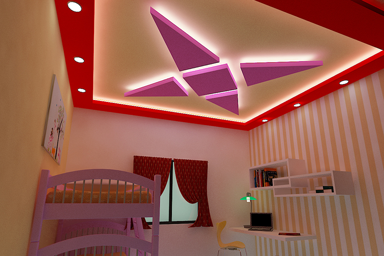 ven Light Distribution Hypes the Ceiling's Presence