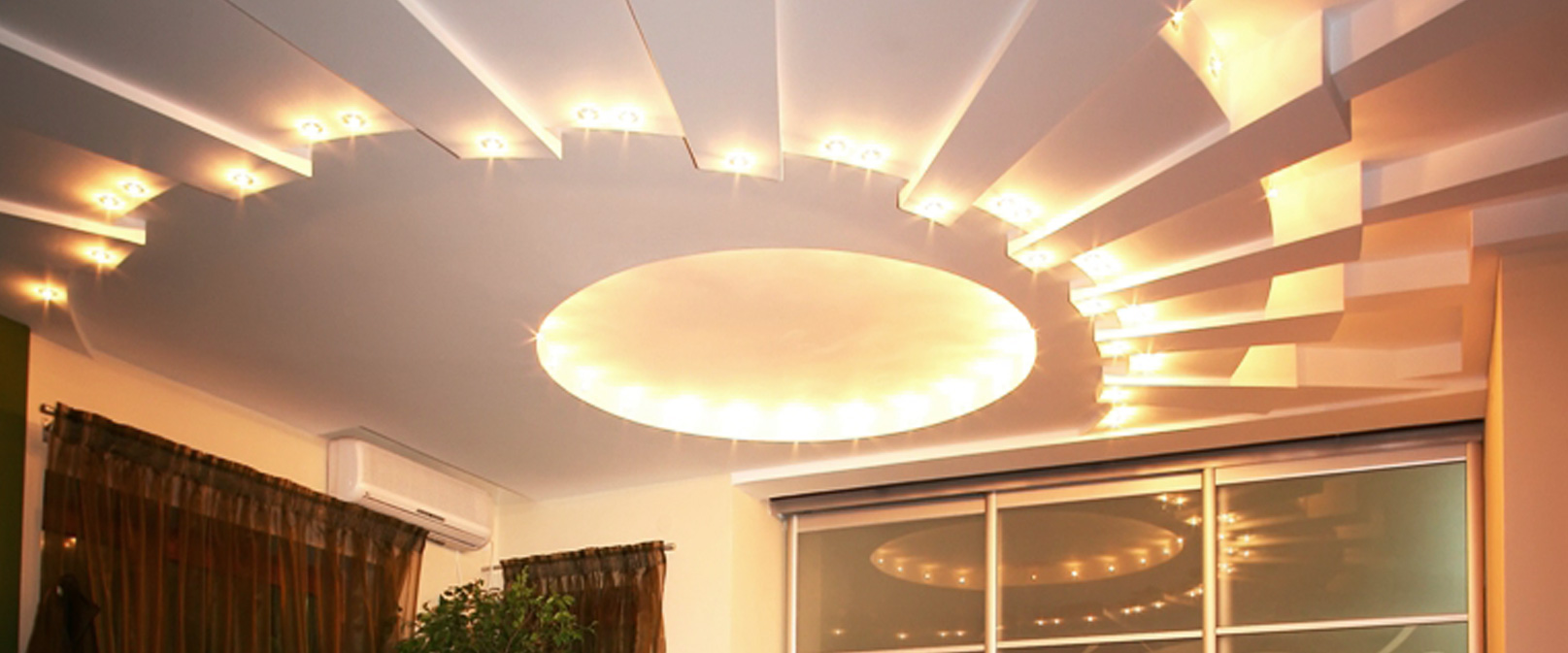 Lighting up the ceiling saint gobain gyproc india lighting up the ceiling mozeypictures Images