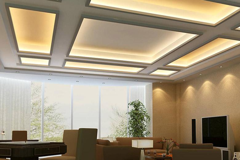 Coffered false ceiling