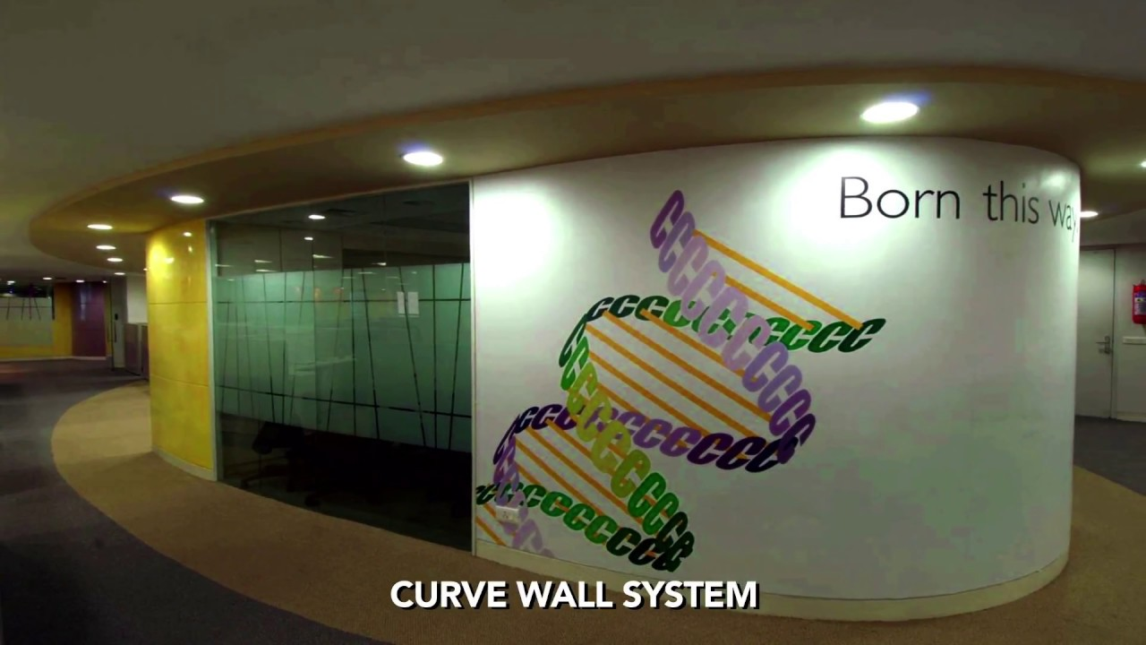 Curve Wall System