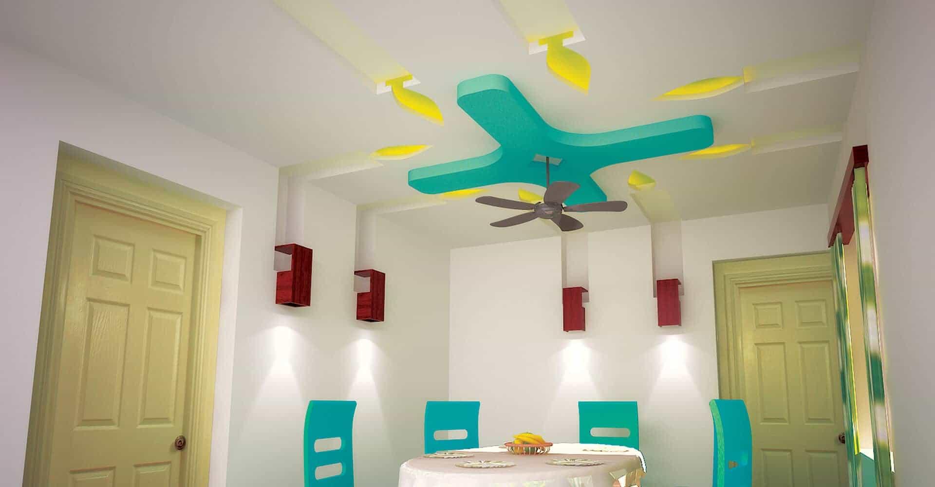 Residential False Ceiling False Ceiling Gypsum Board
