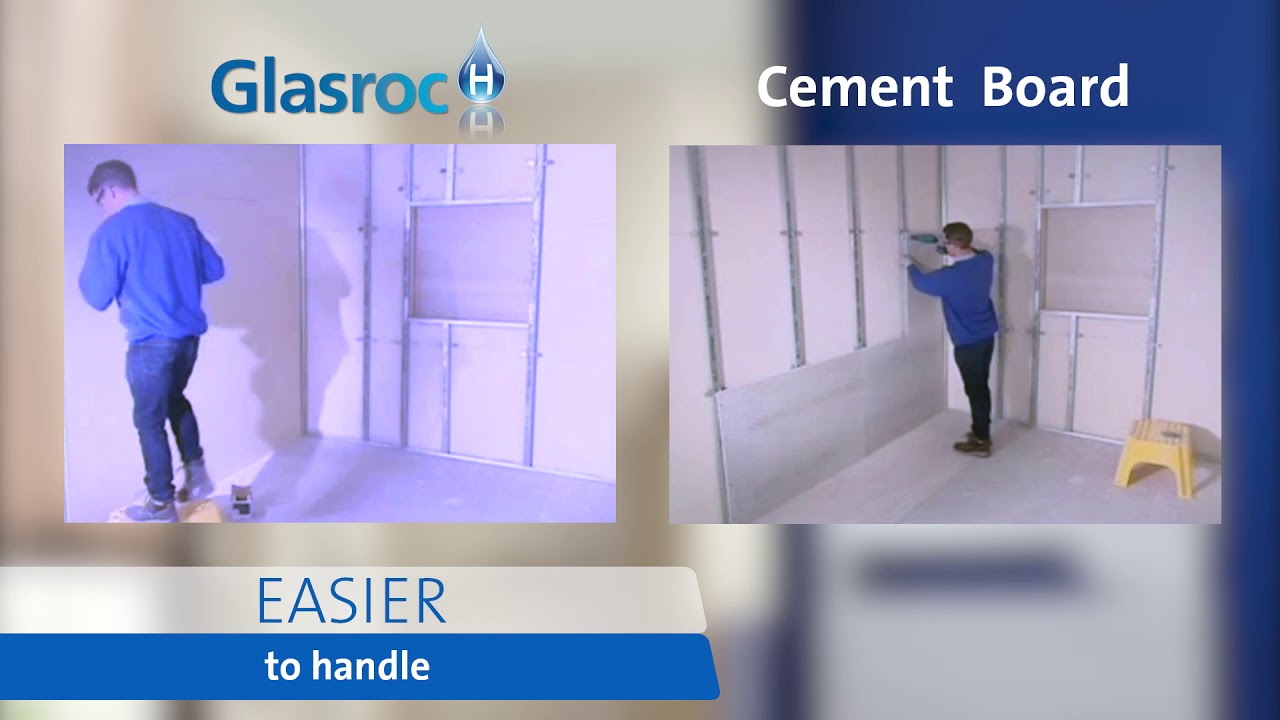 Easy To Handle Glasroc Cement Board