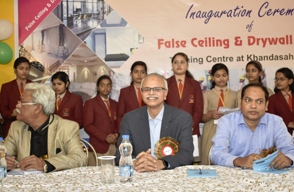 False Ceiling & Drywall Inaugration Ceremony