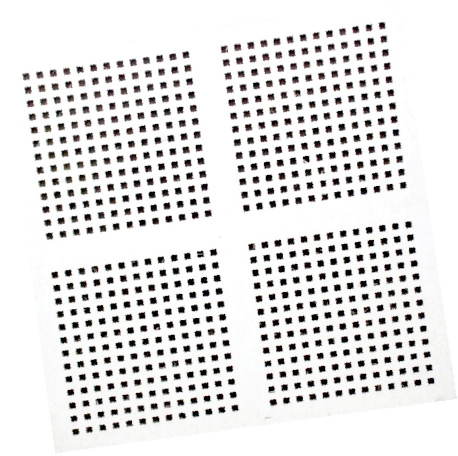 Fully Perforated Gypsum Board Tiles