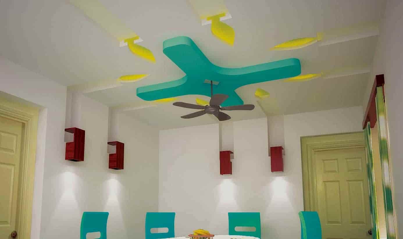 dinning room false ceiling