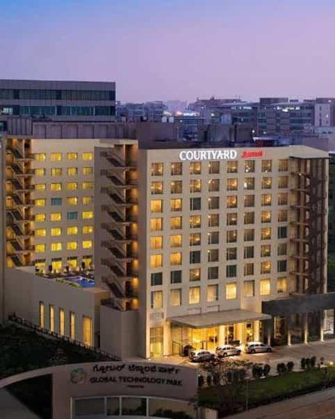 Gyproc Drywall Construction in Fairfield Marriott Hotel