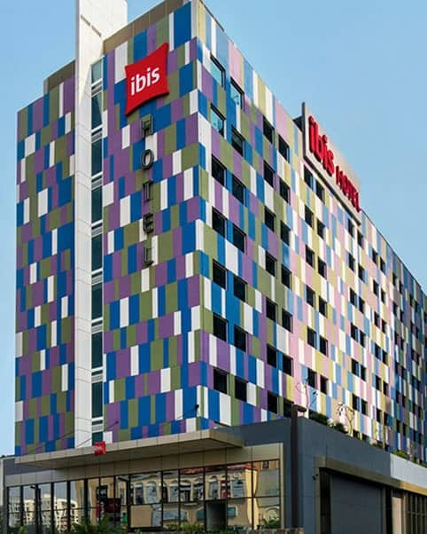 Gyproc Drywall Construction in Ibis Hotel
