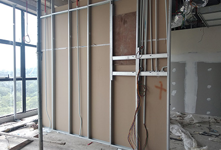 Gypsteel Ultra Partition Framing System