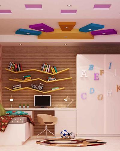 Kid's Room False Ceiling Design