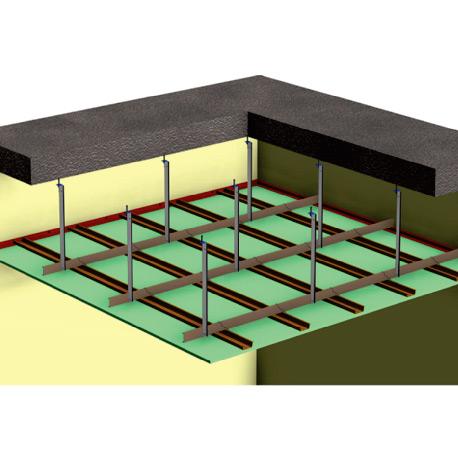 Moisture Resistant Ceiling