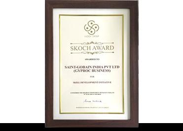 Gyproc Skoch Award