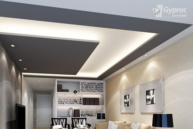 Standard recessed lights & Lighting up the Ceiling u2013 Saint-Gobain Gyproc India azcodes.com