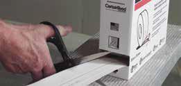Step 2 to install levelline CT corner