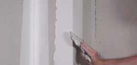 Step 3 to install levelline CT corner