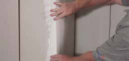 Step 4 to install levelline CT corner