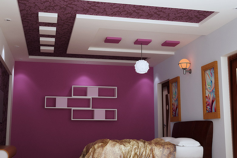 Plaster of Paris(PoP) false ceiling