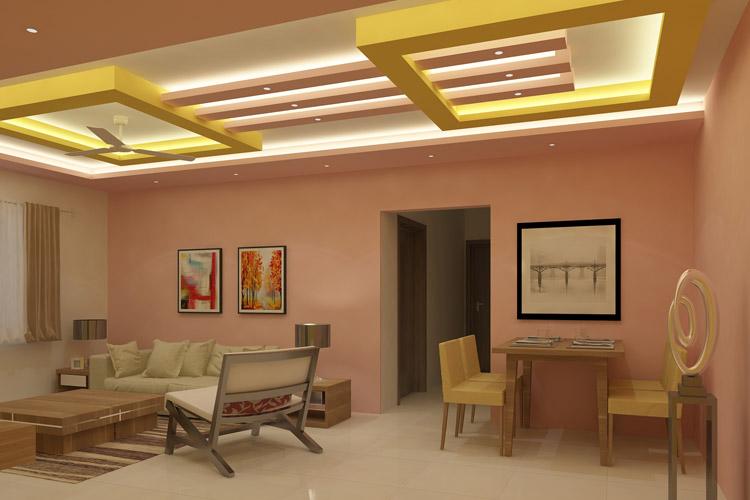Designer False Ceiling Ideas For Living, Fall Ceiling Designs For Living Room